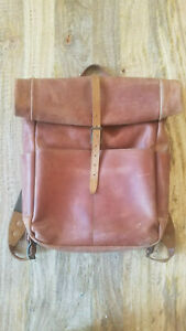 WP Standard/Whipping Post - Leather - Roll Top Backpack - Tan