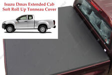 Isuzu Dmax Extended Cab Soft Bed Cover Soft Roll Up Tonneau Cover Premium Grade