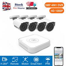More details for 1080p ahd home surveillance cctv security camera system 8ch 5mp dvr ir outdoor