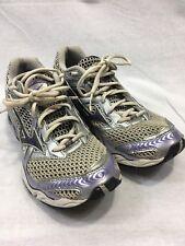 Mizuno Running Sneakers Shoe Wave Creation 12 Women 7.5 Purple Gray Silver Track