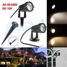 3W 5W COB LED Jardin Paysage Chemin Inondation Spot lampe éclairage extérieur