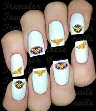 WONDER WOMAN  Stickers ongles autocollant manucure nail art water déco