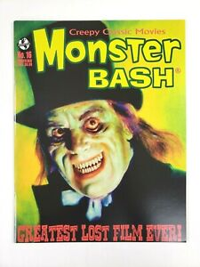 Monster Bash Magazine #16 Creepy Classic Movies 2012 Greatest Lost Film Ever