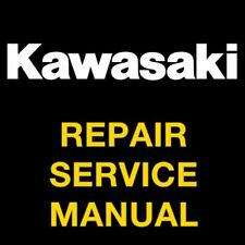 KAWASAKI KX250F 2004 2005 2006 2007 2008 2009 REPAIR SERVICE  MANUAL