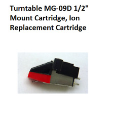 "Turntable MG-09D 1/2"" Mount Cartridge, Ion Replacement Cartridge"
