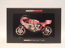 1/12 Minichamps Ducati 900 SS # 12 Mike Hailwood Winner Isle Of Man TT 1978