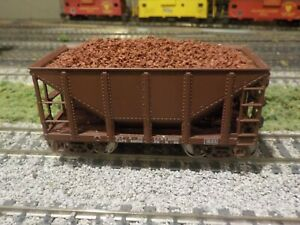 """Ore Car loads to Fit the Walthers  """"Michigan"""" style cars, Fits MDC/Roundhouse"""