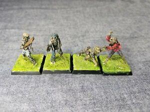 Vintage Citadel C19 Zombies. Pre Slotta Miniatures. Warhammer. 1980s