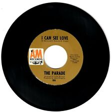 The Parade 1968 A&M 45rpm I Can See Love b/w The Radio Song  Jerry Riopelle