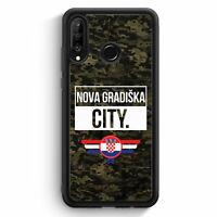 Nova Gradiska City Camouflage Kroatien Huawei P30 Lite Silikon Hülle Motiv De...