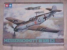 Maquette TAMIYA 1/48ème MESSERSCHMITT Bf 109 E3