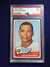 1965 Topps Julio Navarro #563 PSA 9 Detroit Tigers