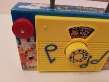 Fisher Price Remake Retro Vintage TV Radio The Farmer in the Dell Music Box