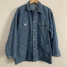 Vintage Style Gap Denim Barn Coat Shirt Jacket L/Xl Ag Workwear