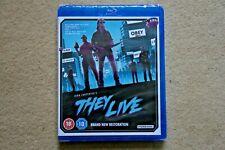 BLU RAY THEY LIVE    NEW RESTORATION  ( JOHN CARPENTER ) NEW SEALED UK STOCK