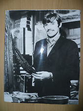 Org Press Photo 1968 GEORGE BEST Manchester Utd Player Working in His Shop