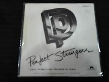 "DEEP PURPLE -PERFECT STRANGERS- SPANISH RADIO PROMOTIONAL 7""  ROCK MOD"