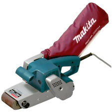 "MAKITA Trade Tools 850W 3"" Belt Sander Variable Speed Control Low Noise Dust Bag"