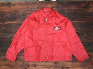 Vintage Budweiser Swingster Nylon Jacket