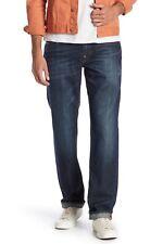 True Religion Slim Dark Denim Rinse Jeans, zip fly, 100% cotton, 36X34, NWT