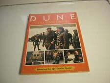 DUNE COLORING BOOK SCI FI UNUSED 1984 THE POLICE STING DINO DE LAURENTIIS
