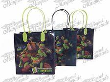 Teenage Mutant Ninja Turtles Party Favor Supplies Goody Loot Gift Bags [12ct]