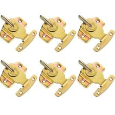 6 Pack Metal  Plated Table Locks Dining Training Table Buckles Connectors H S9X8