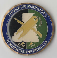 "Thunder Warriors 7 WS Commander  Challenge Coin 1.5 "" DIA"