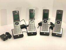 4 Count AT&T CLP99586 DECT 6.0 5 Handset Cordless Phones
