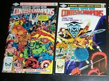 Lot/2  VF 8.0  Marvel Super Hero CONTEST OF CHAMPIONS 1, 2 NEW B&B Combined Shpg