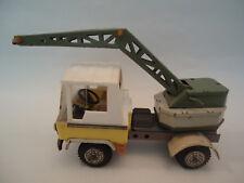 Vintage Friction Tin & Plastic Truck Toy Auto Crane ZBIK Poland