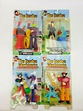Complete Set of 4 Beatles Yellow Submarine Sgt. Peppers Figurines Unopened