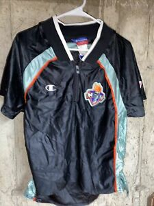 New York Liberty VINTAGE  Champion WNBA Shooting Shirt Small Made in USA