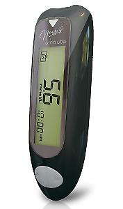 GlucoRx Nexus Mini Ultra Blood Glucose Monitoring System Starter Kit