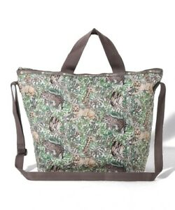 LeSportsac DELUXE EASY CARRY TOTE Dappled Gaze Archive print Kenya Official