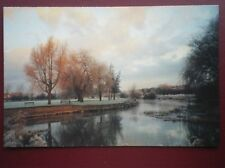 POSTCARD BUCKINGHAMSHIRE OLNEY - THE RIVER OUSE IN THE AUTUMN