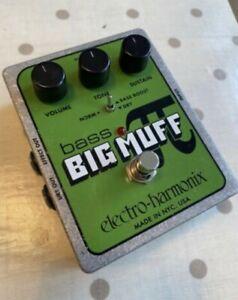 EHX Electro Harmonix Bass Big Muff Pi Distortion Pedal