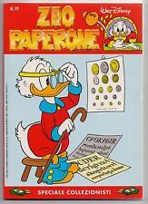 Carl Barks  ZIO PAPERONE  N. 19  Walt Disney Company Italia 1991 originale