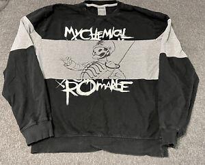 Official My Chemical Romance (MCR) Longsleeve/Sweater Shirt Sweatshirt Size XL