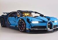LED Light Kit for TECHNIC Bugatti Chiron Model Lego 42083 USB Power