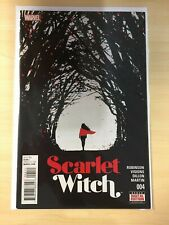 Scarlet Witch 4 Robinson 2016 series 4A Main first 1st print Nm David Aja cover