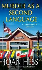 Murder As a Second Language 19 by Joan Hess (2014 Paperback)