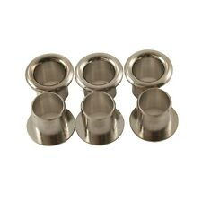 Kluson Push-Fit Stamped Tuning Machine Eylets (Set of 6)