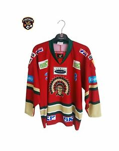Frolunda Indians Ice Hockey Jersey Sweden Shirt Eishockey Trikot