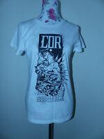 Neues dna Merch Damen Shirt T-Shirt Unregierbar Anti Shirt Gr. M Weiß NEU/OVP