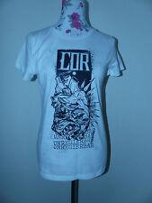 Nuevo ADN merch señora camisa t-shirt ingobernable anti camisa talla M blanco nuevo/en el embalaje original