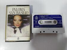 PALOMA SAN BASILIO CINTA TAPE CASSETTE HISPAVOX SPANISH EDIT PAPER LABELS 1984