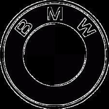 1 X Pegatina-BMW - - 55 Cm-Todos los Colores Brillo Vinilo Calcomanía Gráfico-Auto - 05