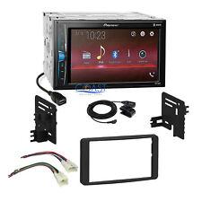 Pioneer 2018 USB Multimedia Stereo Dash Kit Harness 03-07 Toyota Tundra Sequoia
