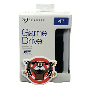 Seagate Game Drive STGD4000400 4TB Hard Drive - Black New Sealed